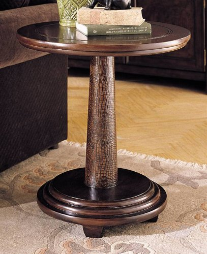 Cheap Magellan Round Pedestal End Table (T83218-00)