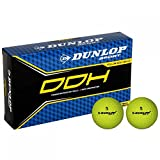 Dunlop Unisex DDH Ti 15 Pack Golf Balls Yellow One Size