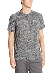 Under Armour Men's Tech Short Sleeve Tee, Black (001), Large