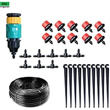 Generic System B 20m Kit : New Automatic Home Garden Mini Watering Sprinklers Kits Flower Pot Micro Drip Irrigation...