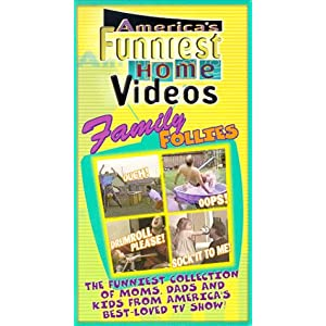 America's Funniest Home Videos: Family Follies [VHS]