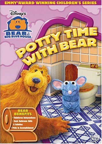 Bear In The Big Blue House - Potty Time [DVD]
