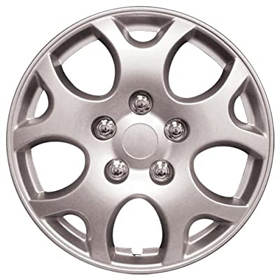 "HS (45446) 14"" Premium Quality Hubcap, (Pack of 4)"