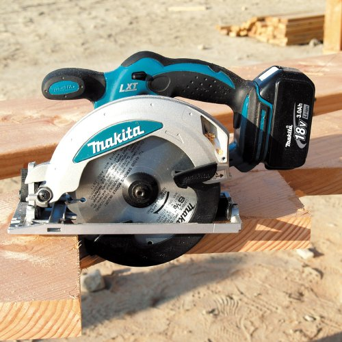 Bare-Tool Makita BSS610Z 18-Volt LXT Lithium-Ion Cordless 6-1/2-Inch Circular Saw (Tool Only, No Battery)