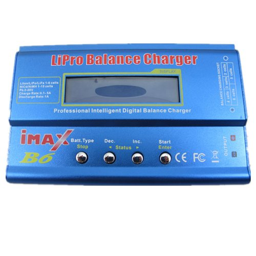 iMAX B6 Digital Battery Balance Charger for Lion/LiPO/ LiFe(A123)/NiMH/NiCD New