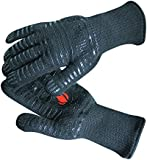 Revolutionary 932°F Extreme Heat Resistant EN407 Certified Gloves - Thick but Light-Weight & Flexible