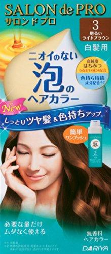 サロンドプロ ワンプッシュ泡のヘアカラー 3