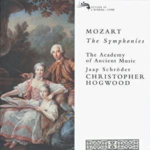 Mozart: The Symphonies (Nos 1-41, plus 27 other symphonic works) /AAM * Schroder * Hogwood