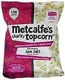 Metcalfe's Skinny Topcorn CLIC Sargent Salt 23 g (Pack of 12)