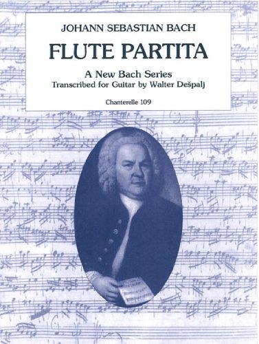 Johann Sebastian Bach: Flute Partita (Chanterelle)