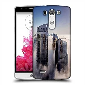 Snoogg Big Buildings Designer Protective Phone Back Case Cover For LG G3 BEAT