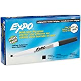 Expo Original Dry Erase Markers, Fine Point, 12-Pack, Black
