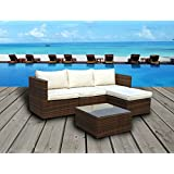Nice Emerald Bay Collection Pc Outdoor Rattan Wicker Corner Chaise Sofa Sectional Patio Furniture Set Choice of