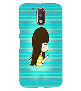 PrintDhaba Cartoon D-4236 Back Case Cover for MOTOROLA MOTO G4 (Multi-Coloured)