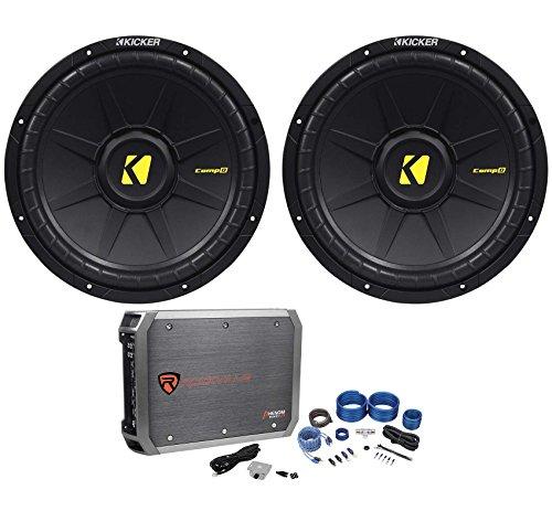 Package: (2) Kicker 40CWD124 12