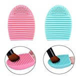 Mudder Makeup Brush Cleaner Silicone Cosmetic Cleaning Tool, Set of 2