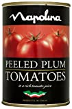 Napolina Peeled Plum Tomatoes 400 g (Pack of 12)