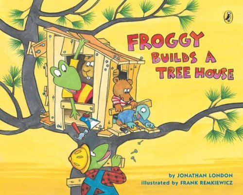 Froggy Builds a Tree House by Jonathan London (2013-04-04) (Froggy Builds A Tree House compare prices)