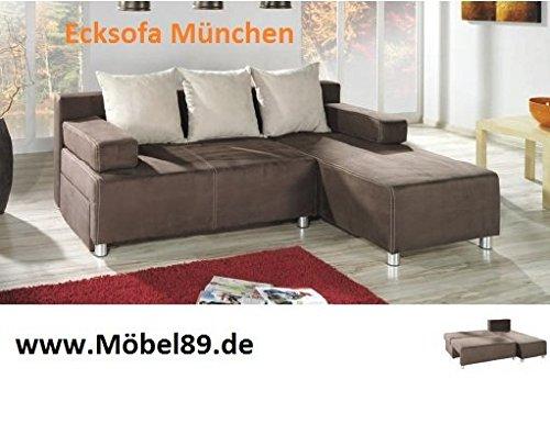 Ecksofa Munchen mit Bettfunktion Eckcouch Sofa Couch