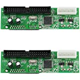 HDE SATA to PATA/IDE Hard Drive Interface Adapter - 2 Pack