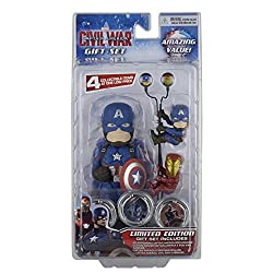 NECA Marvel Captain America Civil War - Limited Edition Gift Set Scalers HUBSNAPS Body Knocker Earbuds