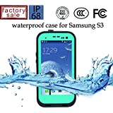 Redpepper Durable Waterproof Dustproof Snowproof Shockproof Protective Cover Case for Samsung Galaxy S3 I9300 - Teal