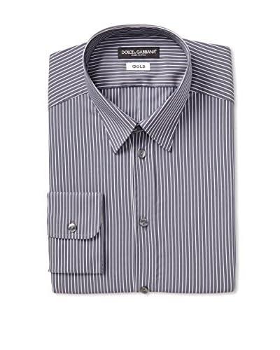 Dolce & Gabbana Men's Striped Dress Shirt