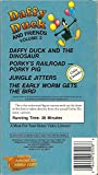 Daffy Duck and Friends Vol.2: Daffy and the Dinosaur, Porkys Railroad, Jungle Jitters, Early Worm Gets the Bird