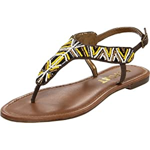 Report Women's Meryl Thong Sandal,Brown,6 M US