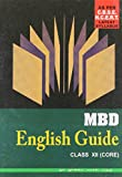 MBD English Guide - Class XII (Core)