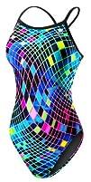 TYR SPORT Womens Disco Inferno Diamondfit Swimsuit
