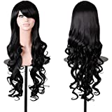 """Rbenxia Curly Cosplay Wig Long Hair Heat Resistant Spiral Costume Wigs 32"""" 80cm"""