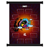 """Chinese New Year 2012 Year of the Dragon Fabric Wall Scroll Poster Calendar (32"""" x 42"""") Inches"""