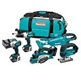 Makita 18V LXT Lithium-Ion Kit with Batteries (5 Pieces)