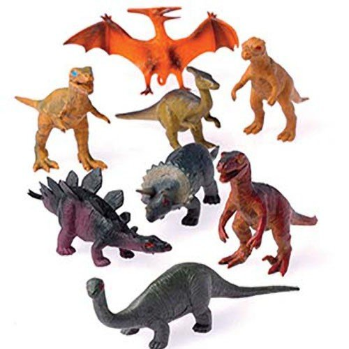 "12 3 1/2""-4"" Toy Dinosaurs/Educatonal Toys/Dinosaur Party Favors & Decorations/Classroom Supplies"