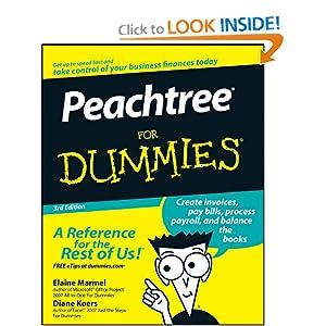 Peachtree For Dummies Diane Koers, Elaine Marmel