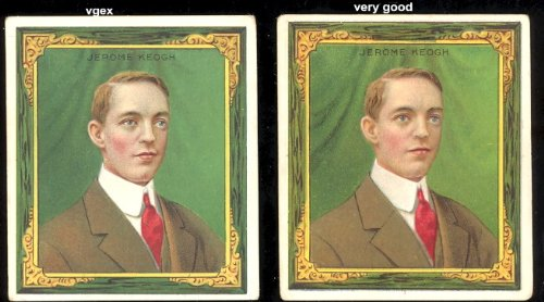 1910 T218 Pool Players (Miscellaneous) Card# 9 jerome keogh VG Condition