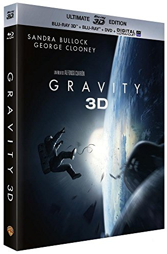Gravity - Blu-Ray 3D + Blu-ray + DVD + Digital Ultraviolet (Ultimate Edition)