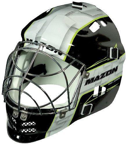 Mazon-CKA12103-Casque-de-hockey-Enfant-Blanc-7-12-ans