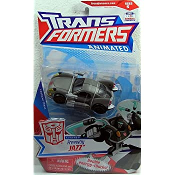 Transformers - Animated - Deluxe Class - AUTOBOT - FREEWAY JAZZ - OVP