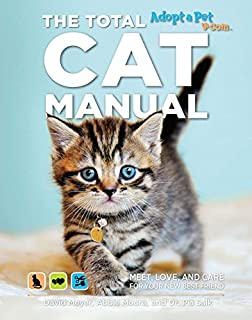 Book Cover: The Total Cat Manual: Meet, Love, and Care for Your New Best Friend
