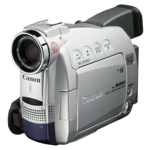 Canon MV600 Digital Camcorder [Mini-DV 18xOptical DV-out]