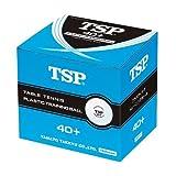 TSP ヤマト卓球 40mm+トレーニングボール 10ダース入 010045 ホワイト
