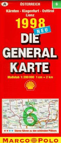 Generalkarte Österreich 6. Kärnten, Klagenfurt,