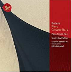 Brahms: Piano Concerto No. 2; Piano Sonata No. 1