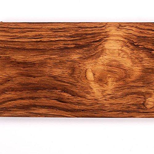 "Honduras Rosewood 3/8"" X 1.5"" X 5"" Knife Scale 2Pc"