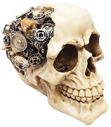 Steampunk Skull Figurine