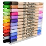 Kuretake Zig 24 Pack Brushables Dual Tip Brush Pens Color Marker (Color: multi)