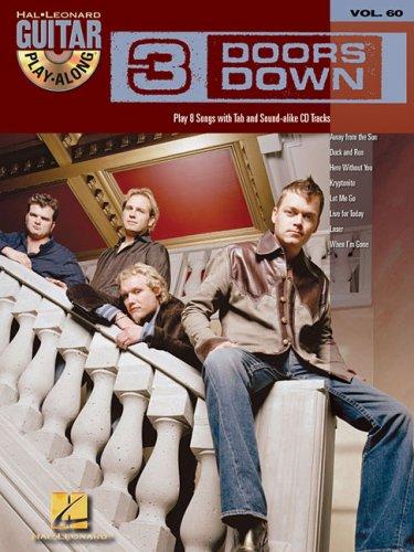 3 Doors Down Volume 60 Bk/Cd Guitar Play Along