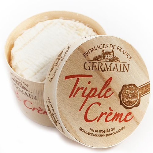 Triple Creme by Fromagerie Germain (6.3 ounce) (Triple Cream Brie compare prices)